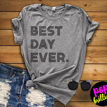 Best day ever Mickey tank top. Disney tank. Disney tshirt. Tee&Tops. Disney tank. Disney family shirts. Disney shirt. Mickey mouse shirt A13