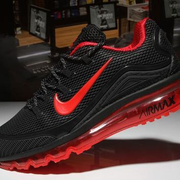 KUYOU Nike Air Max 2018 black&red