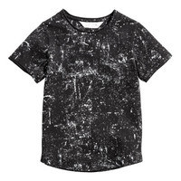 Washed-look T-shirt - from H&M