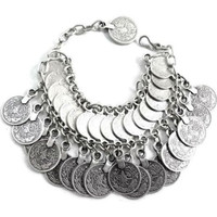 Gypsy Love Coin Bracelet