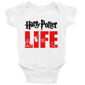 Harry Potter Life Long or Short Sleeve Unisex Onesuit