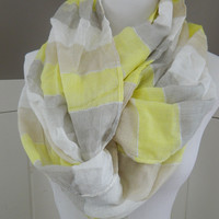 Colorblock Infinity Scarf