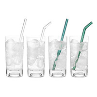 Glass Straws- Set of 2 | reusable straws