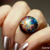 Orion Nebula Galaxy Ring Out of this World Fashion by isewcute