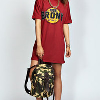 Cara Bronx T-Shirt Dress