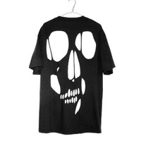 shopwithasianstereotypes:  Skull Cut Out Tee was $50 now $33