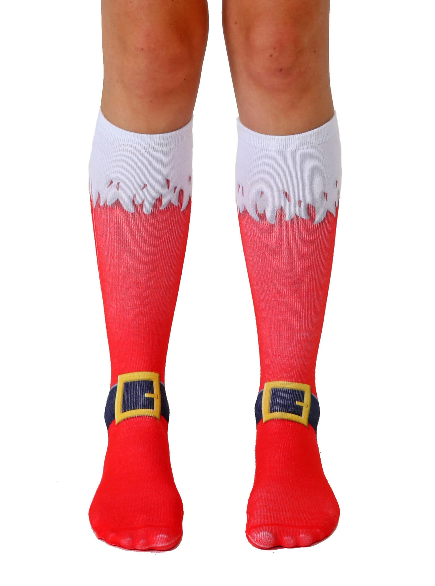 santa boots knee high socks from living royal