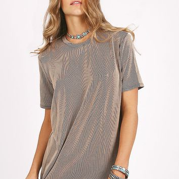 Where You Should Be Ribbed Top
