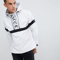 Nicce logo overhead windbreaker jacket at asos.com