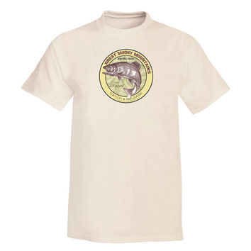 Great Smoky Mountains National Park Trout T Shirt - 8 colors - 100% Soft Cotton Tee - Fishing Gift Localwaters - Every river in the USA