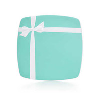 Tiffany & Co. - Tiffany Blue Box plate in ironstone ceramic.