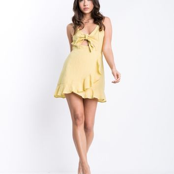 Sunny Tie Front Dress