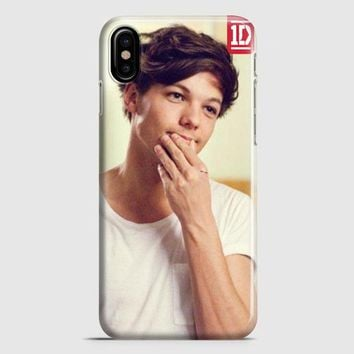 Louis Tomlinson One Direction iPhone X Case
