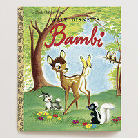 Walt Disney's Bambi, a Little Golden Book - World Market