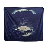 moon Tapestry Decorative fashion Wall Hanging  beach towels multifunction