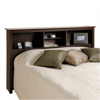 Prepac Manhattan Storage Bookcase Headboard
