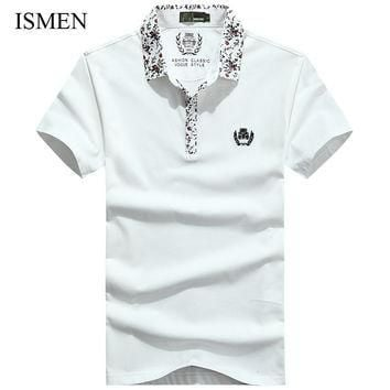 Men's Style Polo Shirts, Casual Male Summer