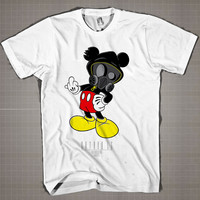 Entree-Mickey Fuck  Mens and Women T-Shirt Available Color Black And White