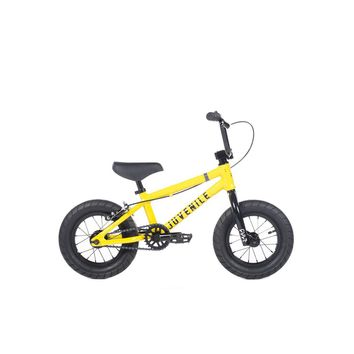 "CULT JUVENILE 12"" A YELLOW COMPLETE BMX BIKE 2019"