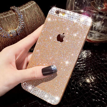 Bling Bling Cute Crystal Rhinestones Case for iPhone