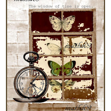 Cottage wall art printable instant download 300 dpi commercial use jpeg housewarming gift digital download antique steampunk wall decor