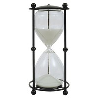 """Glass 6 Minute Timer (9"""")"""