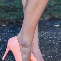 More Than Words Heels-Apricot