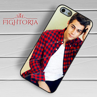 Dylan O'brien actor teen wolf checkered shirt guy -end for iPhone 6S case, iPhone 5s case, iPhone 6 case, iPhone 4S, Samsung S6 Edge