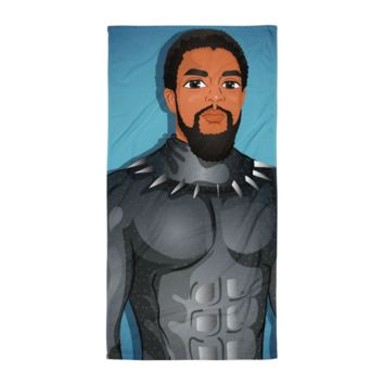T'Challa Black Panther Towel