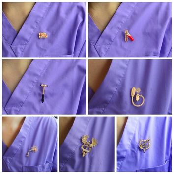 Pins Medical Jewelry MD Gift Doctor Nurse Medical School Jewelry