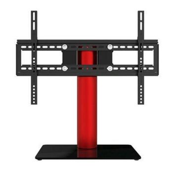 ONETOW Table Top Tv Stand Red