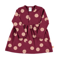 TinyCottons Cookies Print Long Sleeve Dress (4Y)