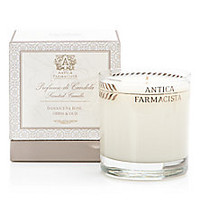 Antica Farmacista - Damascena Rose, Orris & Oud 9oz Round Candle/9 oz. - Saks Fifth Avenue Mobile
