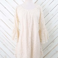Simply Ivory & Lace Dress | Altar'd State