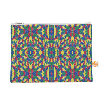 """Empire Ruhl """"Energy Abstract"""" Multicolor Pattern Everything Bag"""