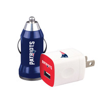 Mizco New England Patriots 2-Pack Home and Away Chargers