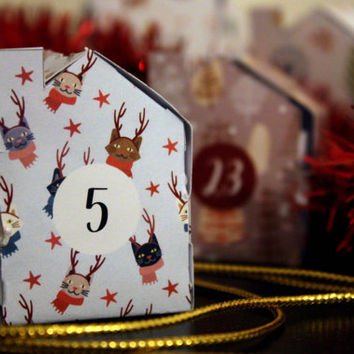 Little Houses Advent Calendar - DIY Calendar