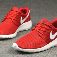 Red Trendy Fashion Casual Sports sneakers shoes