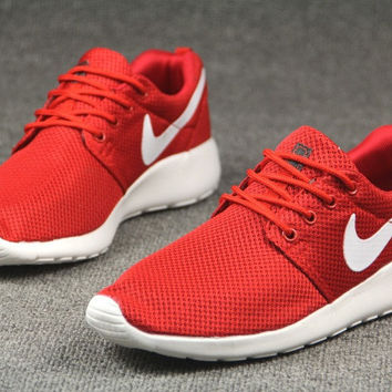 Red Trendy Fashion Casual Sports Shoes