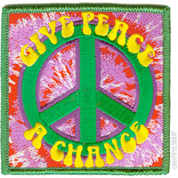 Tye Dye Peace Patch on Sale for $4.99 at HippieShop.com