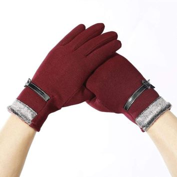 Women Touch Screen Waterproof Warm Gloves