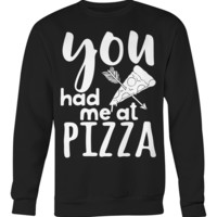 Funny Pizza Sweater