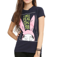 Bob's Burgers Louise I Smell Fear On You Girls T-Shirt