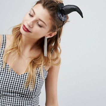 PrettyLittleThing Halloween Witches Headband at asos.com