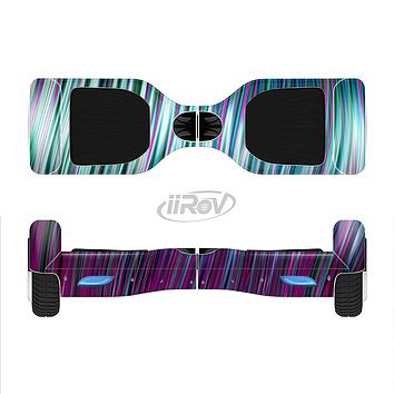 The Pink & Blue Vector Swirly HD Strands Full-Body Skin Set for the Smart Drifting SuperCharged iiRov HoverBoard