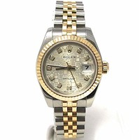Rolex Datejust swiss-automatic womens Watch 179173 (Certified Pre-owned)