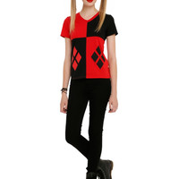 DC Comics Harley Quinn Girls Costume T-Shirt 2XL