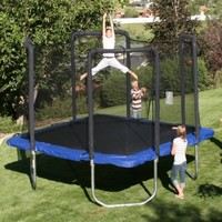 13' Square Trampoline with Safety Enclosure