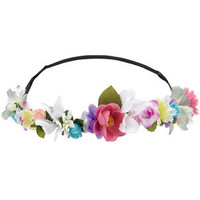 Coachella Flower Crown Bando | Multi | Monsoon