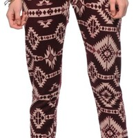 See You Monday Blackberry Tribal Jogger Pants